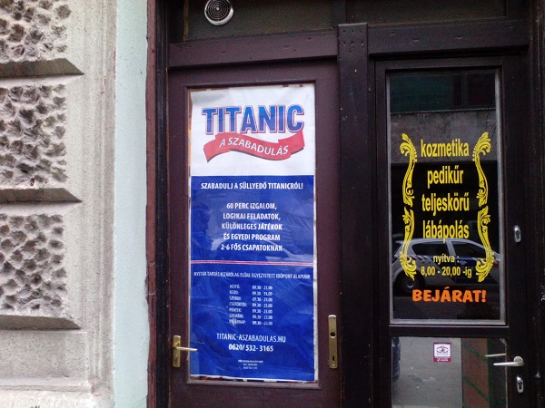 Titanic teszt
