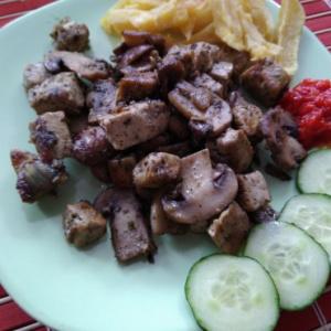 Bio-Fungi gomba és a tofu