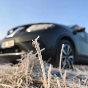 Nissan X-Trail a fagyásponton