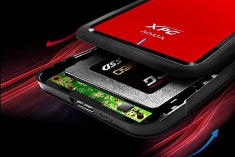 Az ADATA bejelentett az XPG SX950 SSD-t és az EX500 meghajtó házat