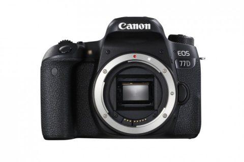 Canon EOS 77D és EOS 800D digitális tükörreflexes fényképezőgépek és optika