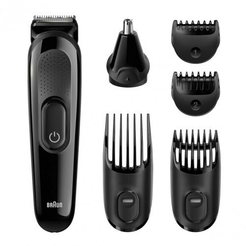 MGK3020 6in1 többfunkciós szőrzeteltávolító készlet. Braun MGK3020 6 az 1-ben  arcszőrzet- és hajvágó készlet c48b6136e5