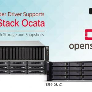 A QNAP Cinder Driver támogatja az OpenStack Ocata verzióját, mely képes a blokkosított adattárolásra és a pillanatképek készítésére is