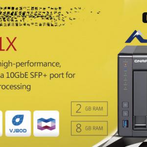 A QNAP bemutatja a TS-431X – 4 lemezes, belépő szintű üzleti hálózati adattárolóját beépített 10GbE SFP+ csatlakozással