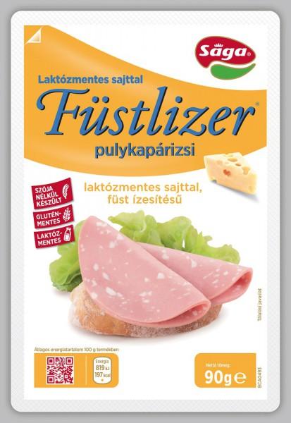 Füstlizer laktózmentes sajtos füstízű pulykapárizsi