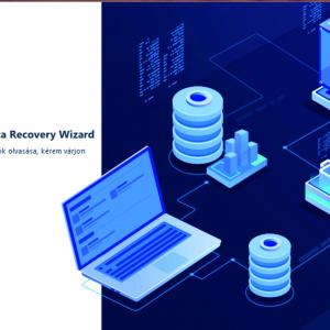 EaseUS Data Recovery Wizard adatmentő teszt