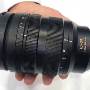 Lumix 12-35 és 12-25mm-es objektíveket teszteltünk.